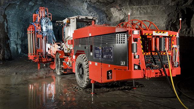Sandvik DL421 Long Hole Drill Rig For Large Scale Production