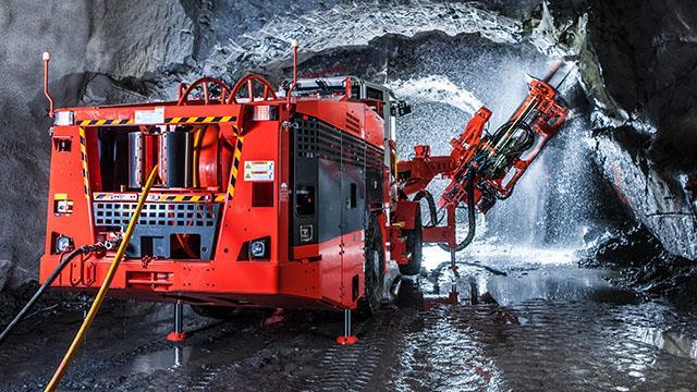 Sandvik DL431 Electro Hydraulic Drill Rig For Underground Mines