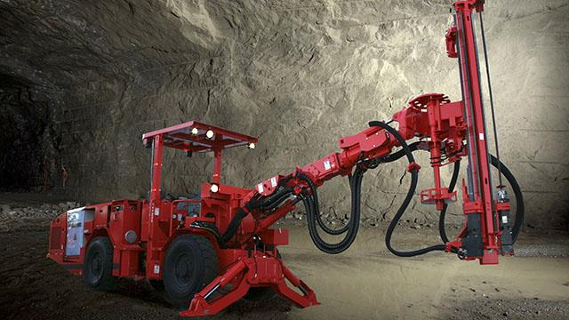 Sandvik Ds311 Electro Hydraulic Amp Compact Mechanized Rock