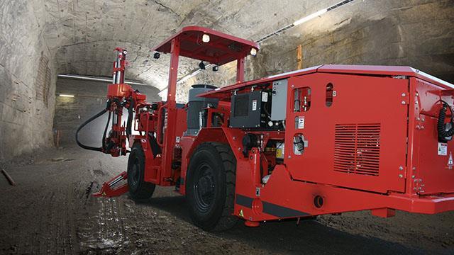 Sandvik Ds311 Electro Hydraulic Amp Compact Mechanized Rock